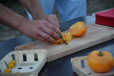 Tomato cutting - A CLEMENT