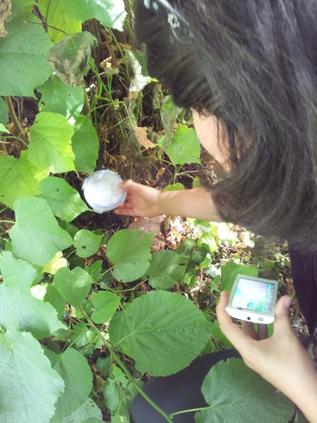 Geocaching and rallies